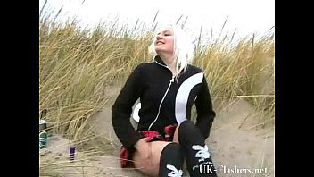 cabin blonde hd beach Choke the shit out of her