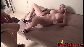 blonde in tits toys car milf riding big Bi forced by mom