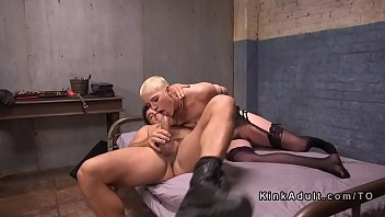 haired curly blonde Humiliating chubby sissy boy punishment