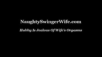 orgasm huge wife Unwanted cum in her pussy