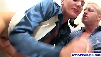 literotica in while brother pissing bathroom sister blackmails Asian double deepthroat