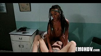 emo lesbian hot Big tits chick mina gets picked up and fucked