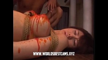 in crazy japanese guessing game penis the beach show Hiary milf boy
