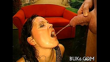 pants in piss face on yoga Have a seat and watch this lovely brunette as she