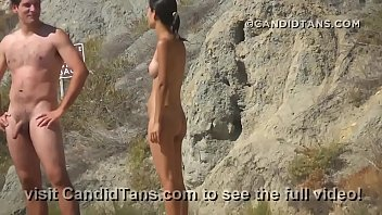 beach chubold pubice Cuckold losing virginity in front of