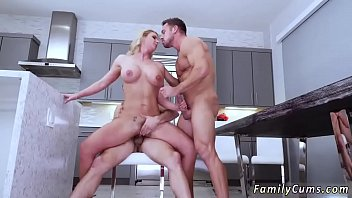 son teaching and sex mom Lesbian on face